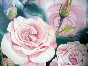 "L/Edition, Hand Signed, Mary-Dawn Roberts, ""Victorian Roses"" Stratford Kitchener Area image 8"