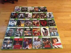 Various games for sale. All prices are listed OBO