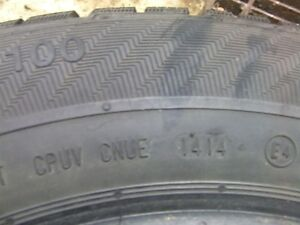 4, 205/65/R15 Studded Winter Tires Strathcona County Edmonton Area image 6