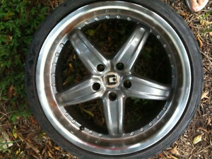 18in Motegi Racing Rims w/ bald Eagle GT tires