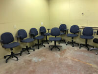 CHAIRS !!! Office /Computer  ADJUSTABLE !! Ex Govt.!!Top line!! London Ontario Preview