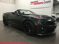 2013 Chevrolet Camaro ZL1 Convertible Navigation Suede Leather