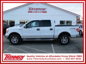 2013 FORD F-150 4WD SUPERCREW XLT/XTR ** LOW KM **