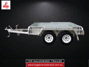 8x5 TANDEM TRAILER FULLY WELDED HOT DIP GAL 2000KG ATM HEVY DUTY Balaclava Port Phillip Preview