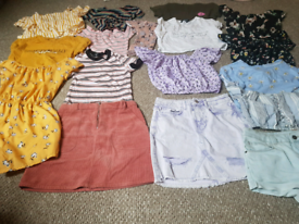 Girls 10-11 years summer bundle