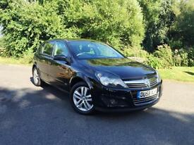 Vauxhall Astra 1.6 SXi BLACK with Service History 5 door hatchback NEW MOT