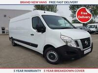 2021 Nissan NV400 L3 H2 Acenta 2.3 dCi 135PS **NEW VAN** Panel Van Diesel Manual