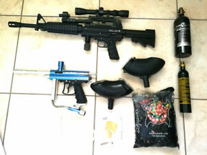 Paintball Set – Armotech WG-65 and VL Orion Semi-Auto Paintball