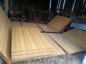 BOWLING LANE WOOD $4000 O.B.O OR TRADE FOR TRUCK!!