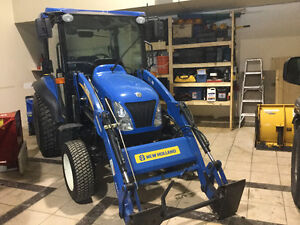 Tracteur newholland boomer 3050