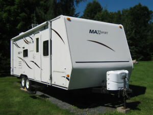 roulotte max sport 2008 25 pieds