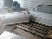 2 doors for 1967 mercury cougar