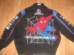 #43 Spiderman Petty Racing Nascar Jacket