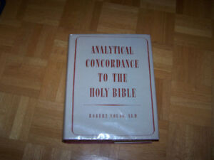 ANALYTICAL CONCORDANCE TO THE HOLY BIBLE - Robert Young