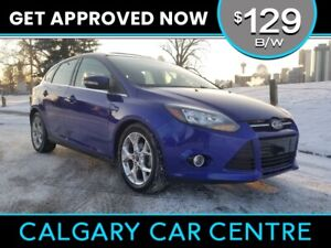 2014 Focus $129B/W TEXT US FOR EASY FINANCING! 587-582-2859