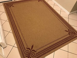 Indoor/outdoor rug - Moving sale. Everything must go by April 28
