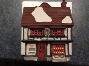 DEPT 56 - DICKENS - TUTBURY PRINTER  #55689 - H74