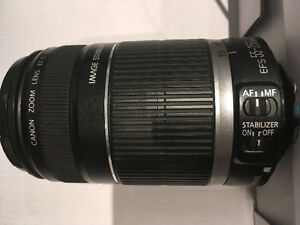 Canon Zoom Lens EF-S 55-250mm For Sale