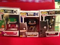 Batman Funko pops