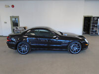 2003 MERCEDES SL55 AMG! 500HP! 42,000KMS! 1 OWNER! ONLY $39,900!