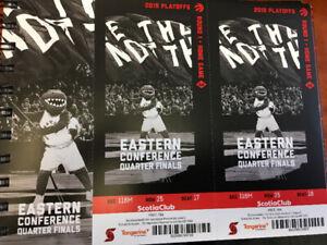 Raptors Playoff Tickets - Tuesday April 23rd