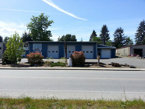 6 bay warehouse for lease