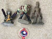 DISNEY INFINITY CHARACTERS FROM GUARDIANS OF THE GALAXY