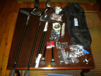 SideStix Boundless Forearm Crutches + extras