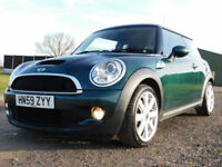 2009 59 MINI Mini 1.6 Cooper S CHILLI PACK**BRG**FSH**£4200**NEW MOT