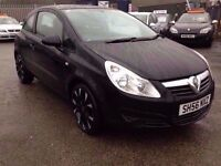 VAUXHALL CORSA / 12 MONTHS M.O.T WITH NO ADVISORIES / 64K MILES