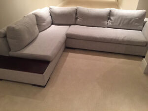 Grey Couch! Perfect for a condo!