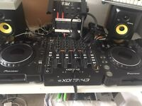 Dj Equipment for hire for events and parties