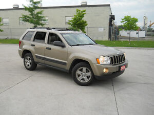 2005 Jeep Grand Cherokee, Leather, Sunroof, 4x4, Only 150000km,