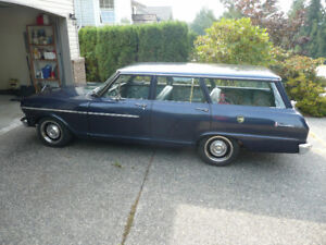 1964 Acadian Invader station wagon - full restoration