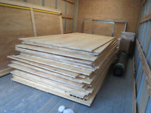 Alberta Plywood sheets for sale....like brand new!!