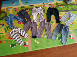 Boy's  9 pants (12-18month) & (18-24month)