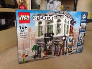 Lego Modular 10251 Brick Bank BRAND NEW Sealed 30AUD off RRP Hornsby Hornsby Area Preview