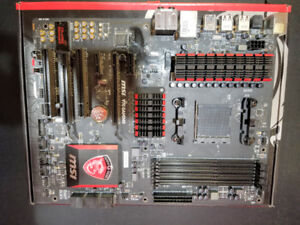 MSI Gaming 970 Gaming AM3+/AM3 Motherboard