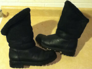 Women's Sorel Black Winter Boots Size 7.5 London Ontario image 1