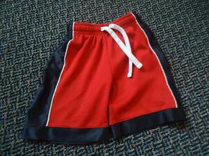 Boys Size 4 Basketball Style Red and Blue Shorts Kingston Kingston Area image 1