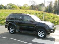 2009 Toyota Land Cruiser 3.0 D-4D Invincible 5dr WITH FSH+SATNAV+LEATHER+1 OWNER