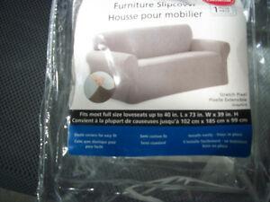 Housse pour causeuse fauteuil fauteuils futons ville for Housse pour causeuse