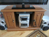 FIREPLACE AND TV STAND FOR SALE