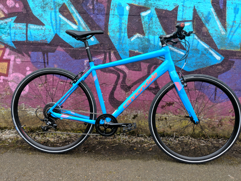 873ffe2bb1c Brand New Cannondale Quick Flat Bar Hybrid bike Sram Apex 1X Road £849