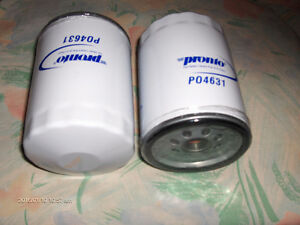 Pronto po4631 Oil Filter- CHEVROLET 1965-2002