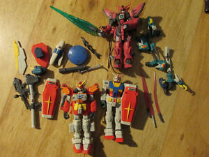 Mobile Suit Gundam Wing TOY LOT EPYON Robot Mech Bandai 2000