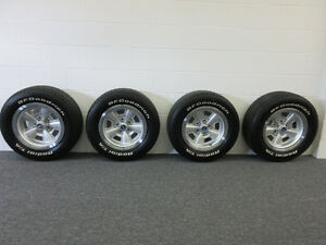 1971-72 Chevelle SS OEM Rally Wheels Code AU