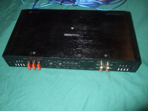 Kenwood Excelon Amplifier 2000 watts at 2ohm