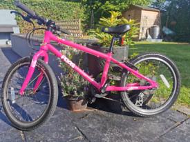 Kids Pink Frog 55 Mountain Bike 20inch