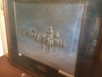 Limited Edition Print 117/1500 'Long Walk of the Navajos' by Olaf Wieghorst Signed by Artist